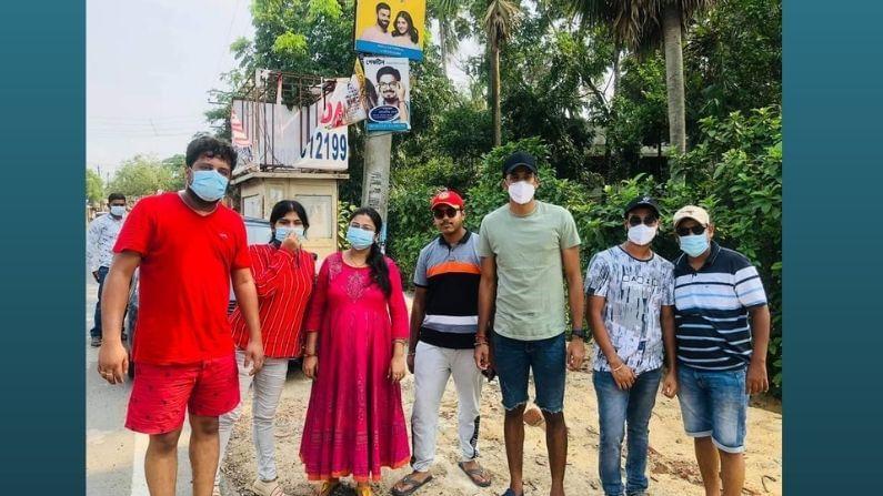 bengal cricket ishan porel helps yaas affected people