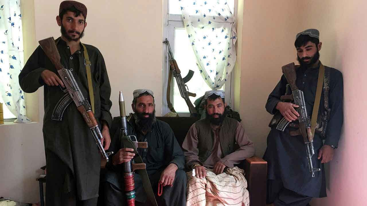 taliban-fighters living on Donations of Locals