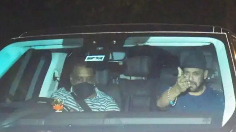 आर्यन खान ड्रग केस: आर्यन की गिरफ्तारी के बाद आधी रात को 'मन्नत' पहुंचे सलमान खान